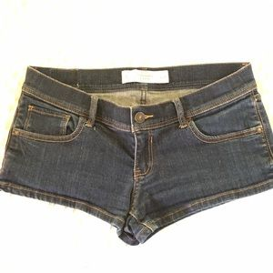 EUC! Abercrombie and Fitch jean shorts!